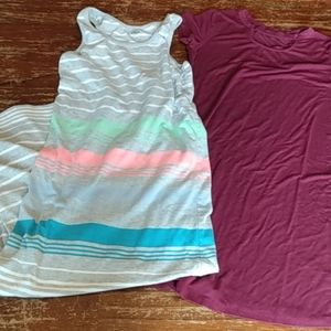 Two girls Size 8 dresses